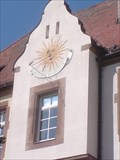 Image for Sundial Hindenburgstraße Schwabach, Germany, BY