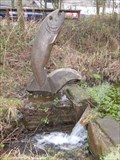 Image for Afan Forest Park - Trout Carving - Port Talbot, Wales, Great Britain.