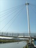 Image for Carmarthen - Footbridge - Wales, Great Britain.