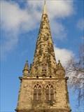 Image for Church of St Mary Spire - Shrewsbury, Shropshire, UK.