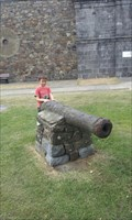 Image for Cannon, Castle, Haverfordwest, Pembrookshire, Wales, UK