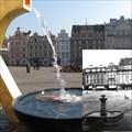 Image for Fountain on main Pilsen square / Kašna na plzenském námestí.