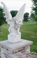 Image for Gargoyle on a country lane Near Fulton, IL