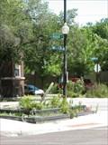 Image for Wayne, Ridge & Hollywood island peace pole - Chicago, IL