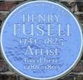 Image for Henry Fuseli - Foley Street, London, UK