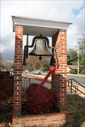Image for Snow Memorial Baptist Church Bell, Johnson City, Tennessee