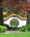 Image for Moon Gate, Kunming Garden. New Plymouth. NEW ZEALAND.