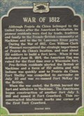 Image for War of 1812 - Prairie du Chien, WI