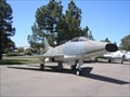Image for North American F-100A Super Sabre - TAM, Travis AFB, Fairfield, CA