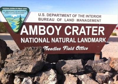 Amboy Crater - California.