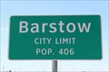 Image for Barstow, TX - Population 406