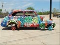 Image for Shidler-Wheeler District flower car - Oklahoma City, Oklahoma USA