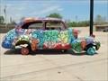 Image for Shidler-Wheeler District flower car - Oklahoma City, Oklahoma USA