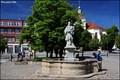 Image for Baroque fountain at Jan Hus' Square in Beroun / Barokní kašna na Husove námestí v Beroune (Czech Republic)