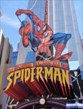Image for Giant Spiderman - Orlando, Florida, USA.