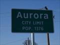 Image for Aurora, TX - Population 1376