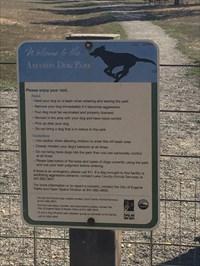 Amazon Dog Park Sign, Eugene, Oregon