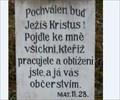Image for Citat z bible - Mat.11.28. - Belec, Czech Republic