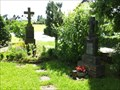 Image for Two Churchyard Crosses at St. Hubertus Todenfeld - NRW / Germany
