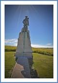 Image for Statue of Hubert Latham-Cap Blanc nez- Calais - France
