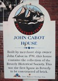 Image for John Cabot House  -  Beverly, MA