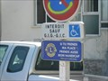Image for Lions Parking sign - Arles, France