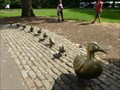 Image for Make Way for Ducklings Sculptures - Boston, MA