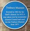 Image for Tenbury Museum, Tenbury Wells, Worcestershire, England