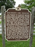 Image for Wisconsin's Lime Industry Historical Marker