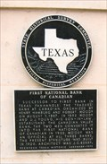 Image for FIRST - Bank in Texas Panhandle - Canadian, TX