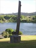 Image for Te Ihingarangi, Stern post of Maori Canoe.  Karapiro. New Zealand.