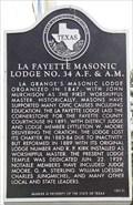 Image for La Fayette Masonic Lodge No. 34 A.F. & A.M.