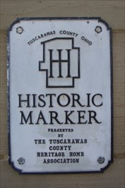 Tuscarawas County Courthouse - Heritage Home Association Plaque