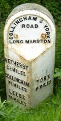 Image for Milestone - Wetherby Road, Long marston, Yorkshire, UK.