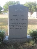 Image for P.A. Watson Cemetery Confederate Heroes - Arlington, TX