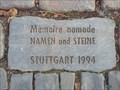 Image for Denkraum: Namen und Steine - Stuttgart, Germany, BW