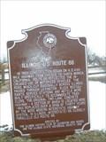 Image for Illinois U.S. Route 66 Historical Marker - Lexington, Illinois