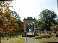 Image for Arch in Confederate Cemetery Marietta, Georgia