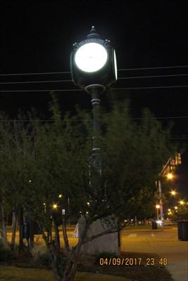 Waymark Code: WM8T5Z, Oklahoma Centennial Clock - Bricktown - Oklahoma City, Oklahoma - Community Commemoration on Waymarking.com