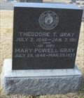 Image for Theodore T. Gray - Woodlawn Cemetery - Independence, Mo.