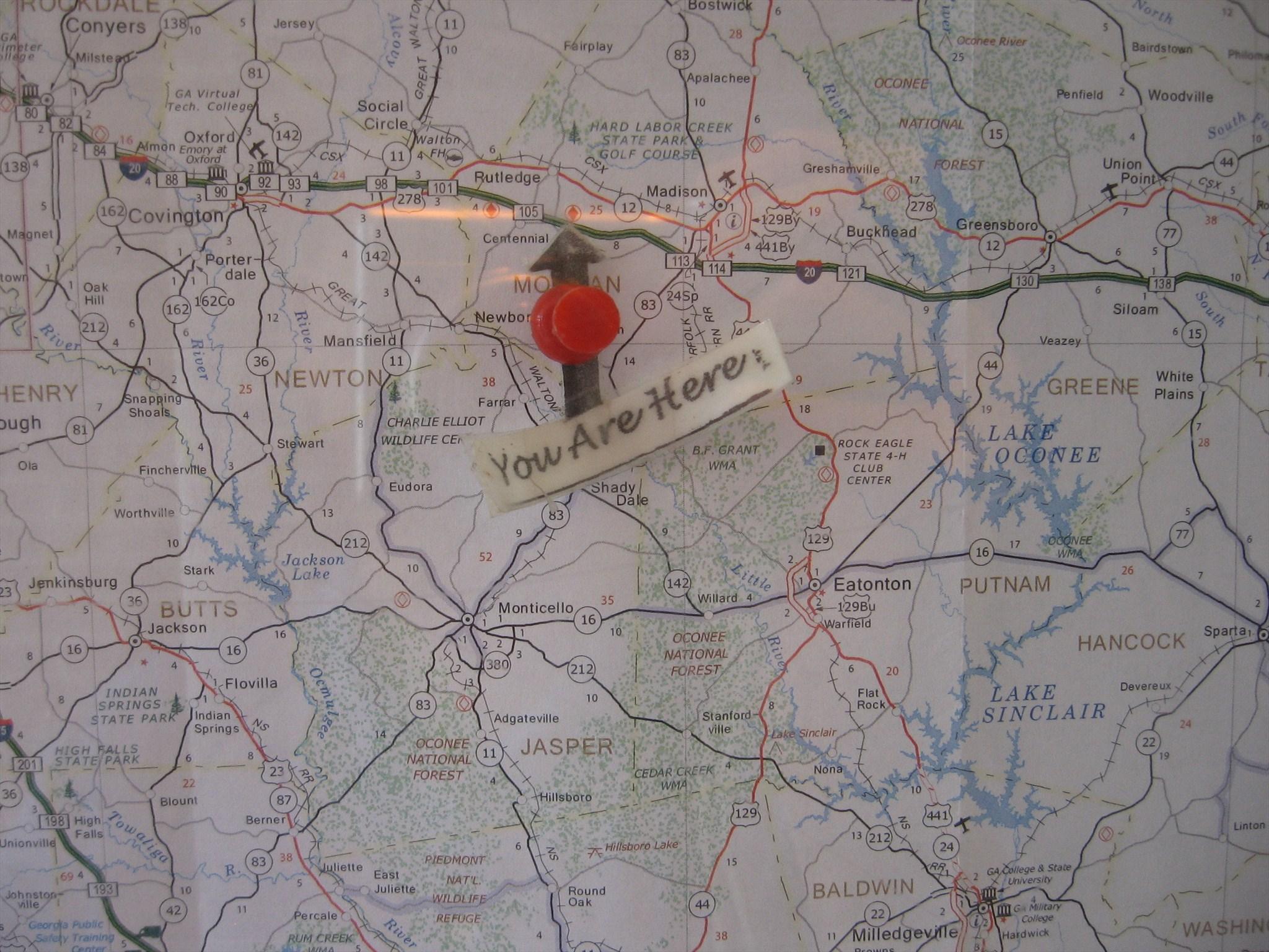 Map Of Georgia Rest Areas.Rutledge Ga Rest Area 53