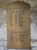 Image for Combined War Memorial - West Lane, Stoborough, Dorset, UK