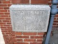 Image for 1892 - Holy Trinity Memorial Evangelical Lutheran Church - Sharpsburg, MD