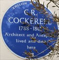 Image for C R Cockerell - Chester Terrace, London, UK