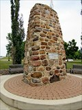 Image for Blackfoot-Cree Peace Treaty Cairn - Wetaskiwin, AB