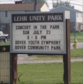 Image for Lehr Unity Park, Dover Township, Pa.