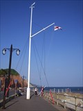 Image for Nautical Flag Pole - Sidmouth Sea Front, Devon UK