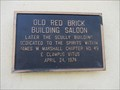 Image for Old Red Brick Building Saloon - Ione, CA