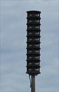 Image for Omnidirectional outdoor warning siren -- Memphis TN