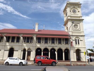 Corner of Bazaar and Wharf Streets, Maryborough, Qld